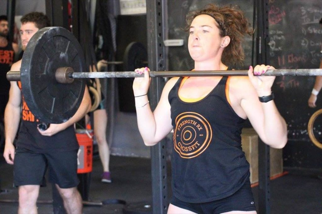 Katie Power Clean