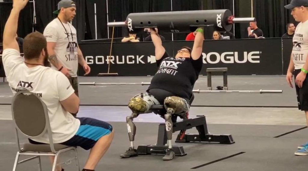 Adaptive athlete Vaughan DeBarr