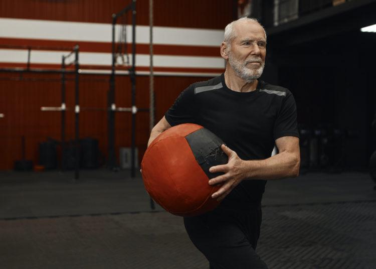 Senior Medicine Ball