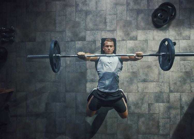 Confident lifter