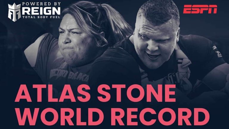 Tom Stoltman Atlas Stone World Record