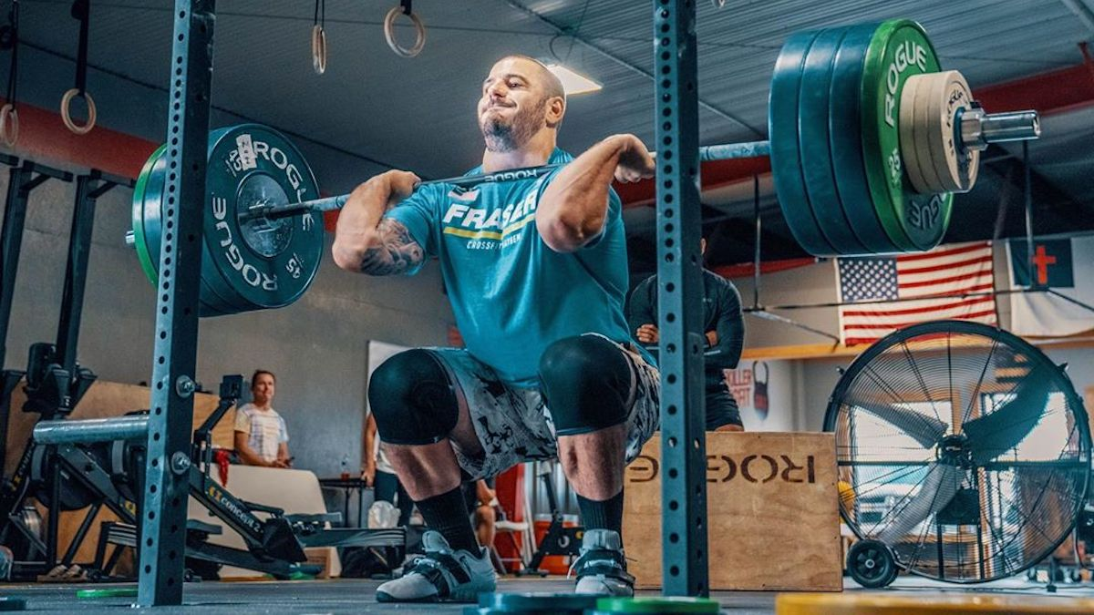Toomey and Fraser Lead After Day 1 of the 2020 CrossFit Games - BarBend