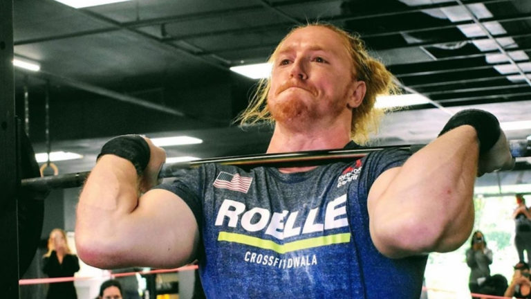 Griffin Roelle 490-pound Front Squat