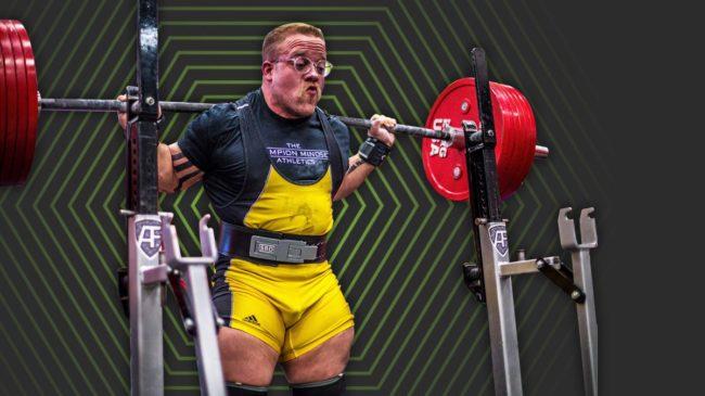 Joe Sullivan Back squat