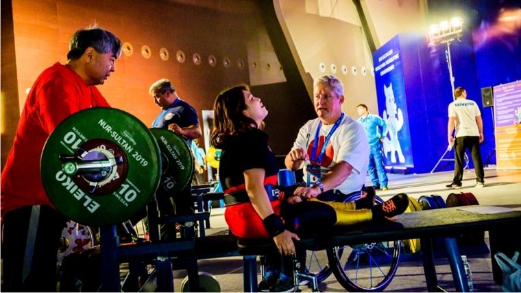 World Para Powerlifting Eri Yamamoto
