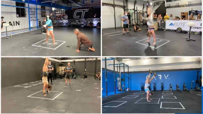 CrossFit Games Handstand Hold