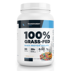 Transparent Labs Grass Fed Whey Isolate