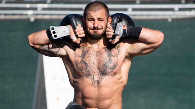 2020 CrossFit Games Results Toes to Bar Lunge