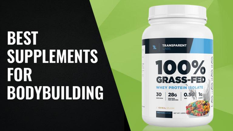 Best Supplements for Bodybuilding