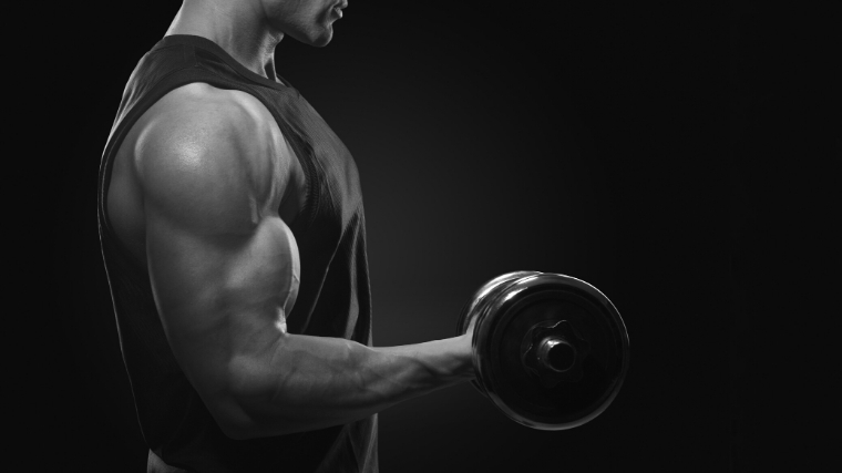 Biceps curl arm exercises