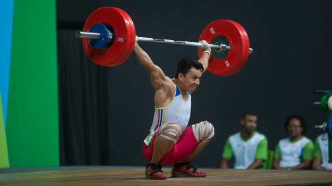 olympic weightlifting snatch