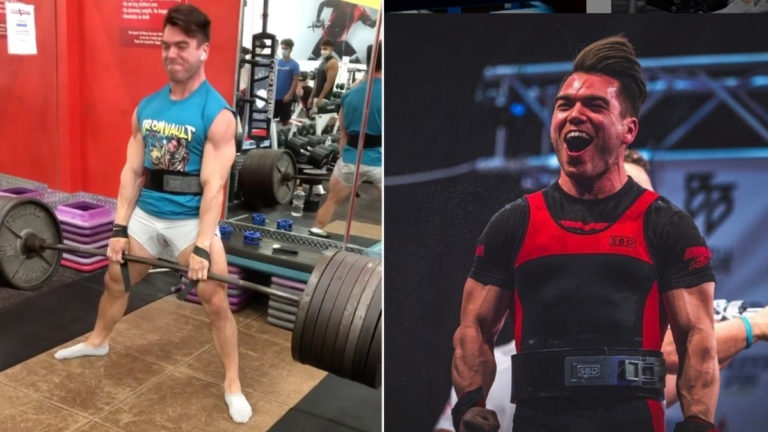 Taylor Atwood 770-pound deadlift