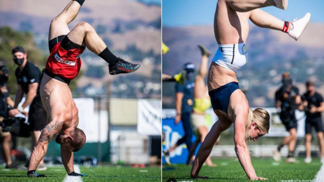 2020 CrossFit Games Handstand Sprint