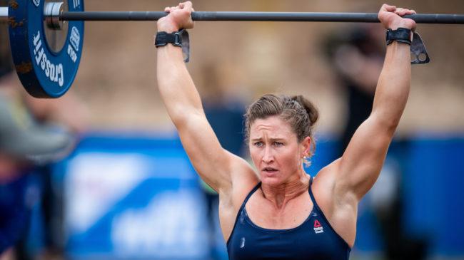 2020 CrossFit Games Finals speed snatch triple