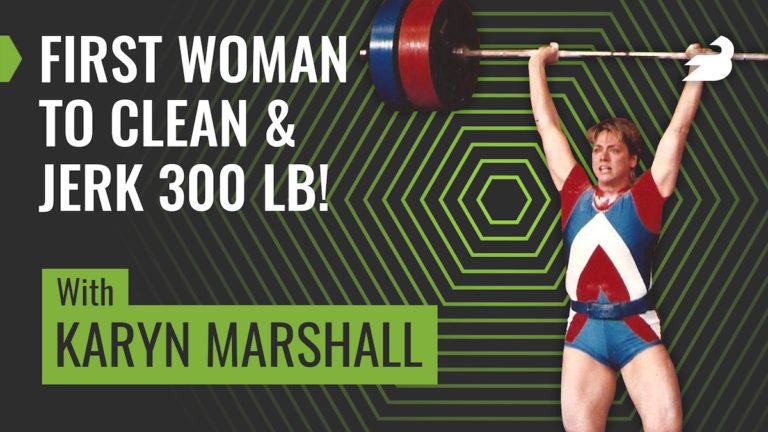 Karyn Marshall Clean and Jerk