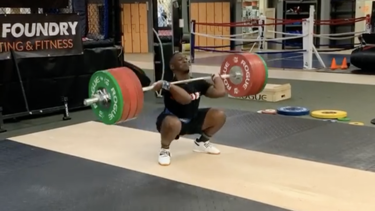 CJ Cummings Clean & Jerk