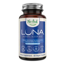 Nested Naturals Luna Melatonin-Free Sleep Aid