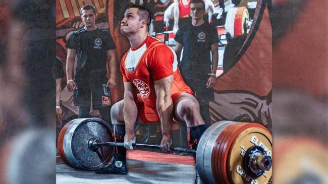 Yury Belkin Deadlifting