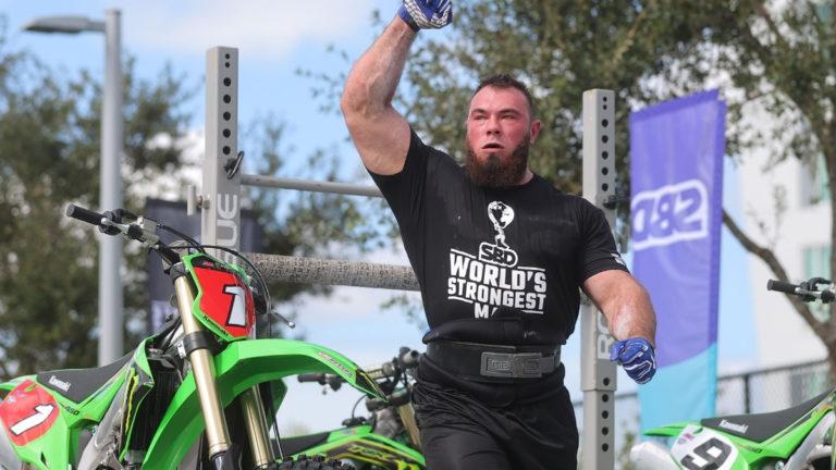 Oleskii Novikov Partial Deadlift