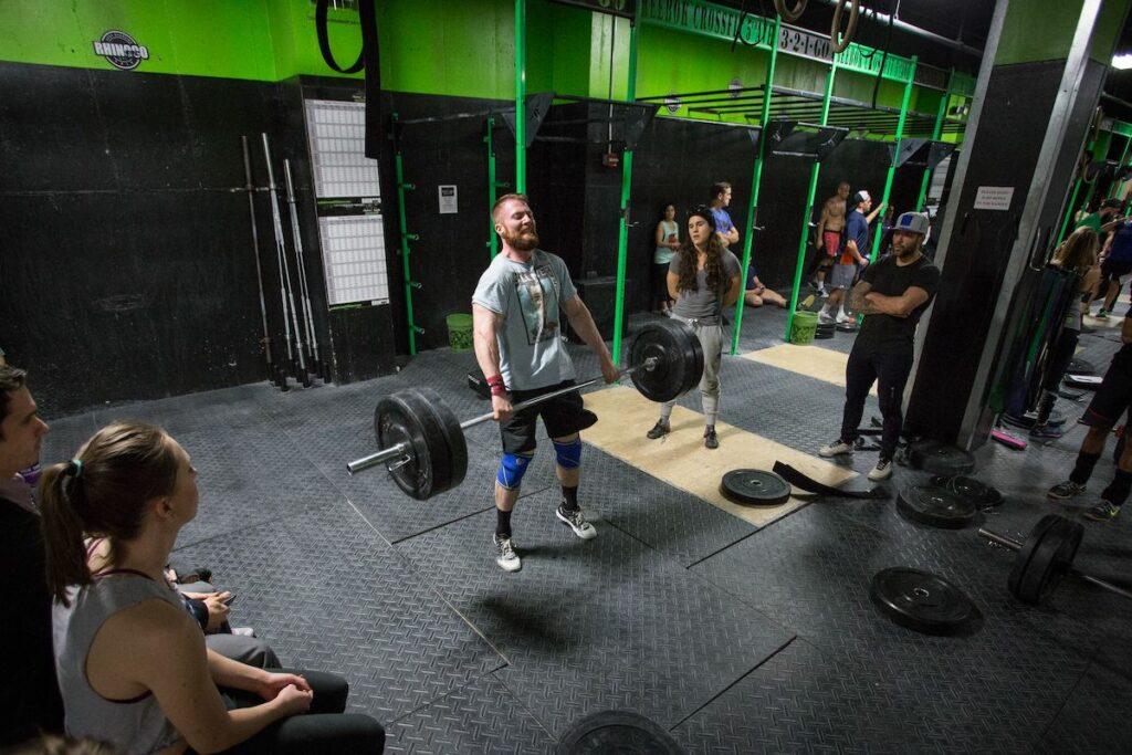 CrossFit Open Clean