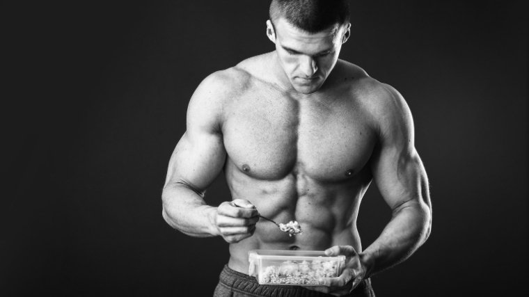 How to Gain Muscle - Man Eating