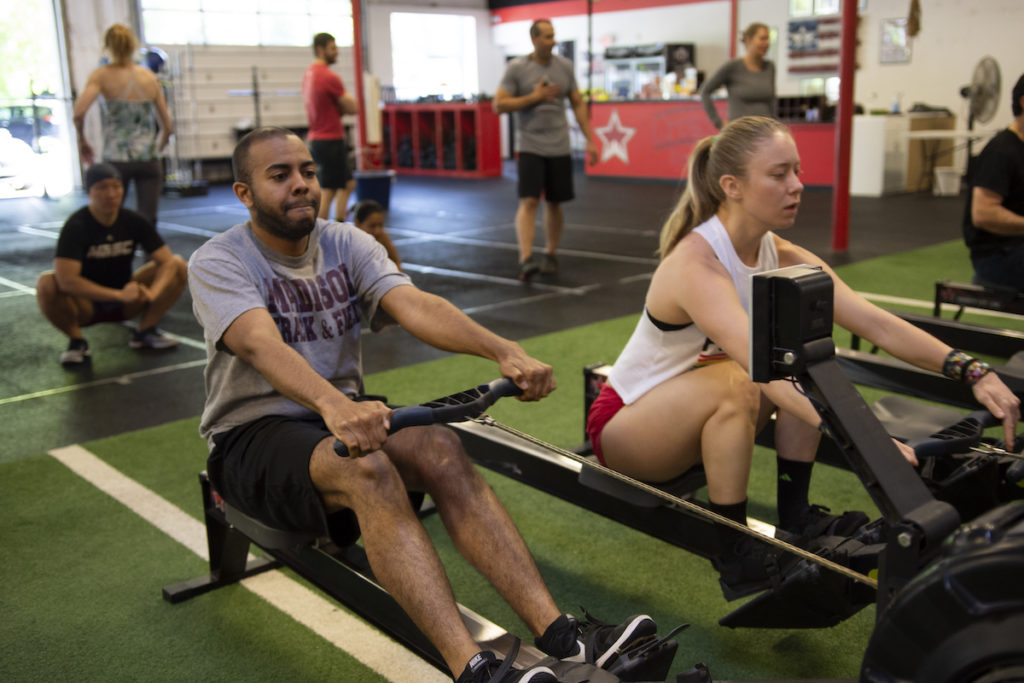 Rowing in CrossFit