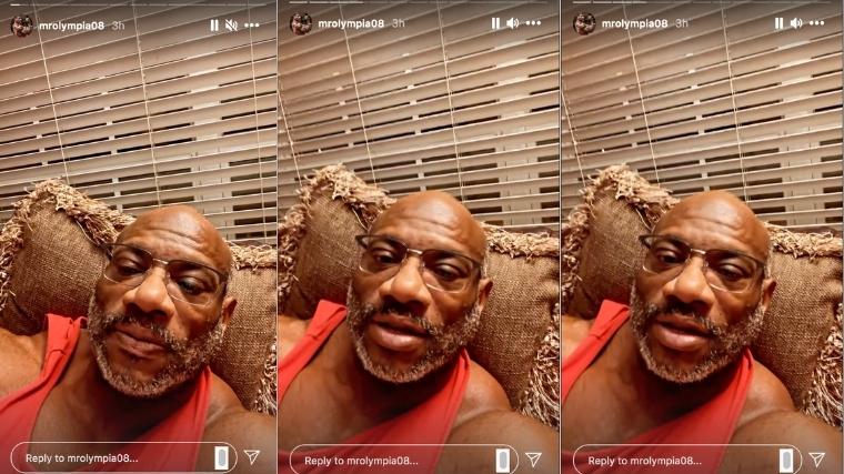 Dexter Jackson Instagram Stories