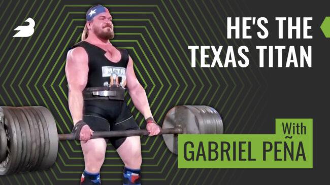 Pro Strongman Gabriel Pena
