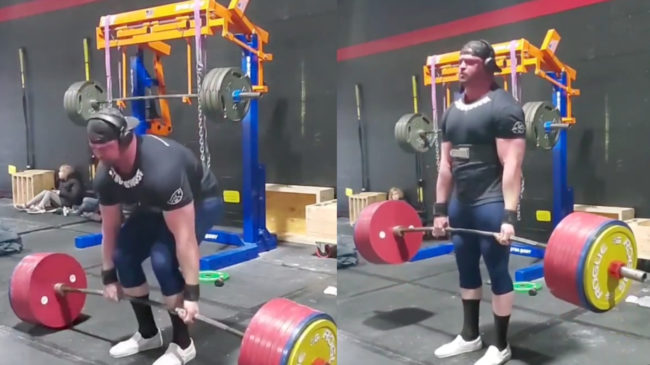 Chris Weist 971-pound deadlift