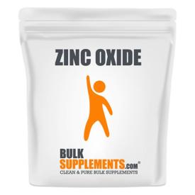 Bulk Supplements Zinc Oxide