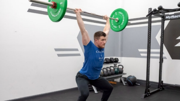 Clean and Jerk — Step 7