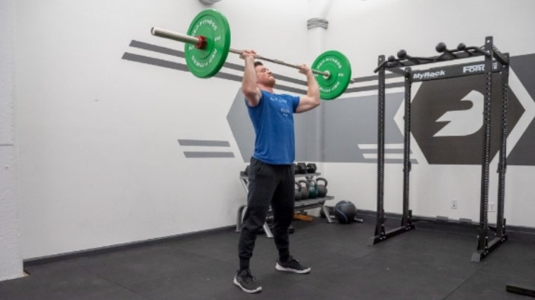 Clean and Jerk — Step 6