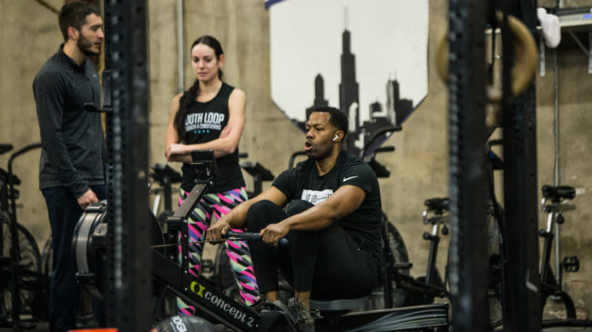 Coaching in a CrossFit Class