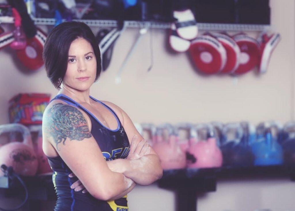 Kettlebell Athlete Kim Fox