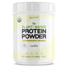 Pure Food Plant-Based Protein Powder
