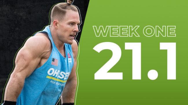 2021 CrossFit Open 21.1