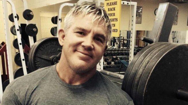 Bodybuilder Andy Haman