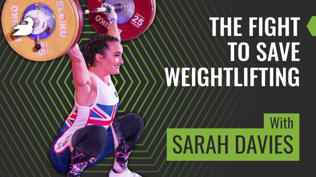 Sarah Davies on the BarBend Podcast