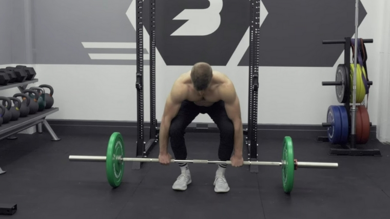Bent-Over Row Set Up