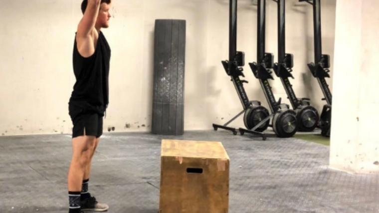 Box Jump Start Position