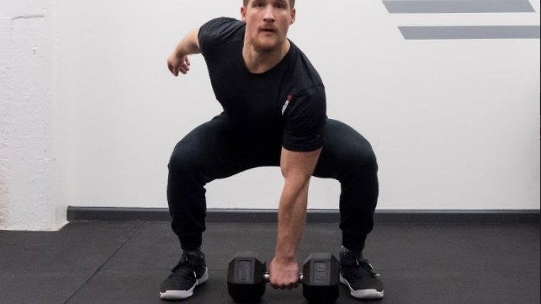 Dumbbell Snatch - Step 1