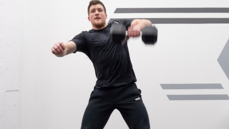 Dumbbell Snatch - Step 2