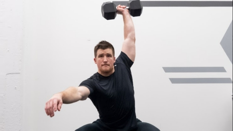 Dumbbell Snatch - Step 3