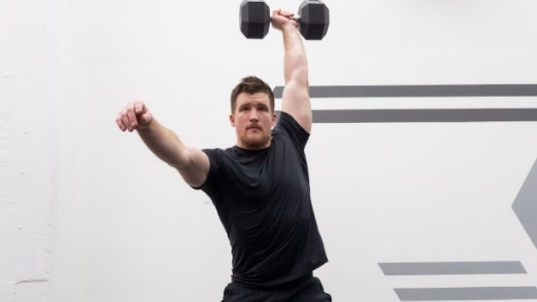 Dumbbell Snatch - Step 4