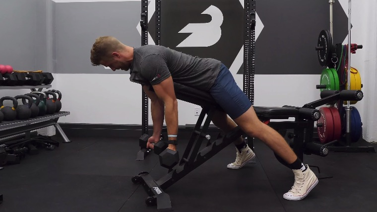 Spider Curl With Dumbbells
