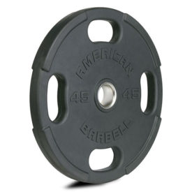 American Barbell Rubber Olympic Plates