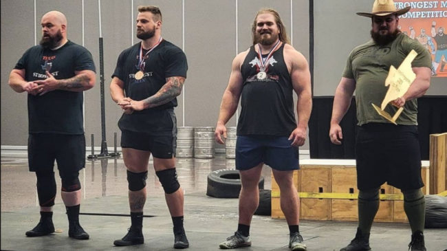 2021 Texas Strongest Man Contest Results