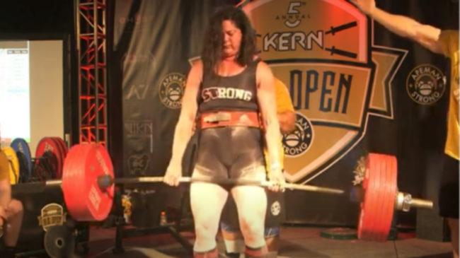 Powerlifter Sara Schiff World Record Deadlift