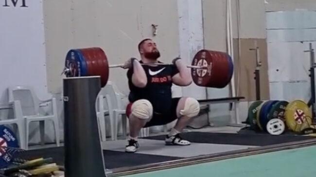 Georgian Weightlifter Lasha Talakhadze
