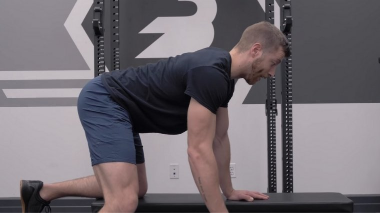 Dumbbell Row Set Your Back